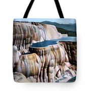 Mammoth Hot Springs Yellowstone Np Tote Bag