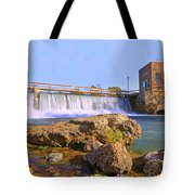 Mammoth Spring Dam And Hydroelectric Plant - Arkansas Tote Bag