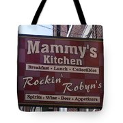 Mammy's Kitchen In Bardstown Kentucky Tote Bag