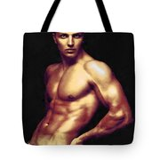 Man And Jeans 2 Tote Bag
