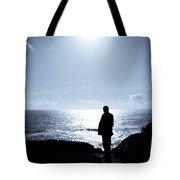 Man And  The Sea Tote Bag
