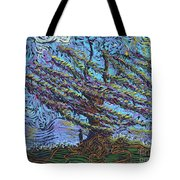 Man Beneath The Willow Tote Bag