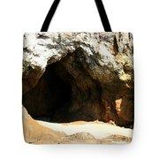 Shell Beach Man Cave Tote Bag