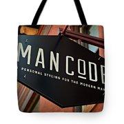 Man Code Tote Bag