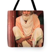 Man From India Tote Bag