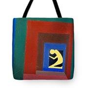 Man In A Box Tote Bag