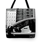 Man In Car - Scenes From A Big City Tote Bag