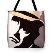 Man In Hat Tote Bag