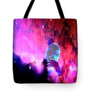 Man In Space Pondering Thoughts Tote Bag