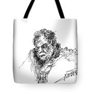 Man In The Corner Tote Bag
