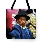 Man Of Cotacachi Ecuador Tote Bag