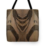 Man Of Sorrows I - Right And Mirrored 1 Tote Bag