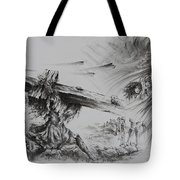 Man Of Sorrows Tote Bag