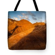 Man On Mars Tote Bag