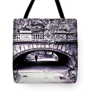Man Under The Bridge Tote Bag