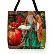 Man Under The Moon Tote Bag