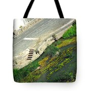 Man Vs Nature Tote Bag