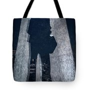 Man With A Briefcase Tote Bag