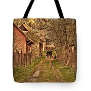 Man With A Horse Tote Bag