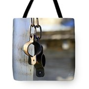 Manacles At The Old Fort Tote Bag