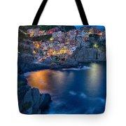 Manarola By Twilight Tote Bag