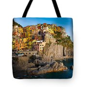 Manarola Tote Bag by Inge Johnsson
