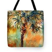 Manasota Key Palm 2 Tote Bag