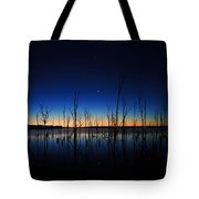 Manasquan Reservoir At Dawn Tote Bag