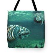 Manatee Heaven Tote Bag