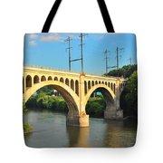 Manayunk Stone Arch Bridge Tote Bag