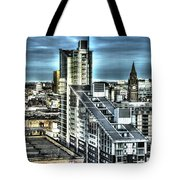 Manchester Buildings Hdr Tote Bag