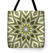 Mandala 107 Yellow Tote Bag