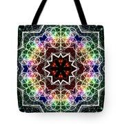 Mandala Cage Of Light Tote Bag
