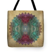 Mandala Crystal Tote Bag by Filippo B