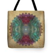 Mandala Crystal Tote Bag