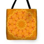 Mandala Night Bloom Tote Bag
