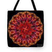 Mandala Of Love Tote Bag
