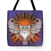Mandala Owl Tote Bag
