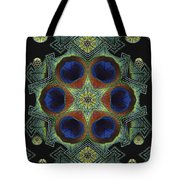 Mandala Peacock  Tote Bag