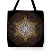 Mandala Sand Dollar At Wells Tote Bag