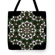 Mandala Trillium Holiday Tote Bag
