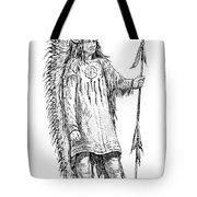 Mandan Indian Chief Tote Bag