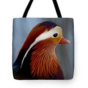 Mandarin Duck Tote Bag
