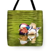 Mandarin Reflection Tote Bag
