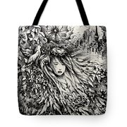 Mandee's Dream Tote Bag by Rachel Christine Nowicki