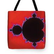 Mandelbrot Set Tote Bag