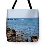 Mandraki Coastline Nisyros Tote Bag