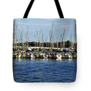 Mandarin Park Boats On Julington Creek Tote Bag