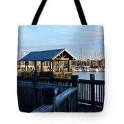 Mandarin Park Boathouse Tote Bag