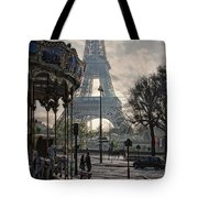 Manege Parisienne Tote Bag